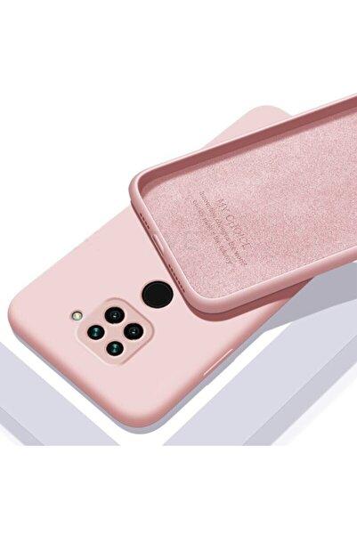 Teknoçeri Xiaomi Redmi Note 9 Içi Kadife Lansman Silikon Kılıf