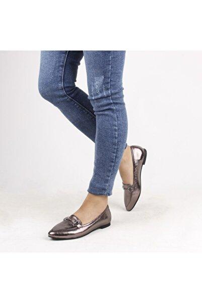 Sail Lakers Kadın Platin  Loafer Ayakkabı