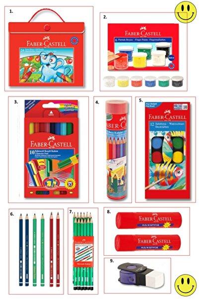 Faber Castell Kırtasiye Okul Hobi Seti (boyama Kitabı Hediyeli) Set 5