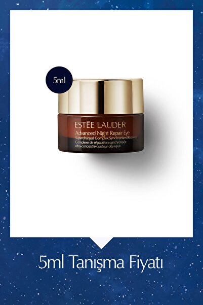 Estee Lauder Göz Bakım Kremi - Advanced Night Repair Eye Supercharged Complex - 5 Ml Seyahat Boy 887167486843