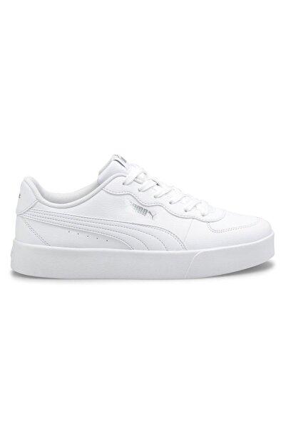 Puma Kadın Günlük Ayakkabı Skye Clean White- White-pu 38014702