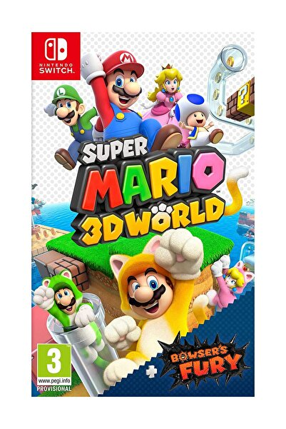 Nintendo Super Mario 3D World + Bowser's Fury Switch Oyun