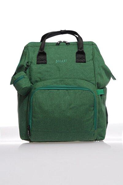 SMART BAGS Smb2007-0028 A.yeşil Kadın Bebek Bakım Sırt Çantası