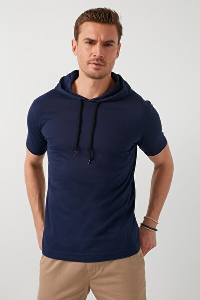 Buratti % 100 Pamuklu Kapüşonlu Slim Fit T Shirt  5412021