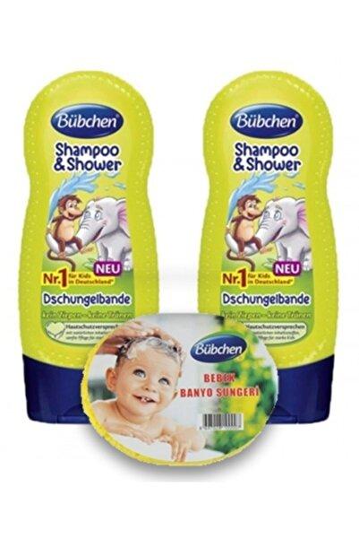 Bübchen Tropik Orman Çocuk Şampuanı Ve Duş Jeli 230 ml  2'li