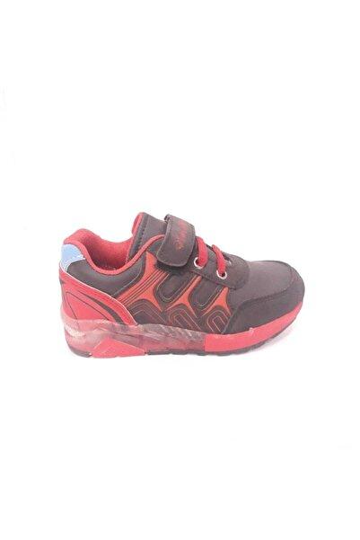 Arvento Erkek Çocuk Kırmızı Siyah  Spor Ayakkabı