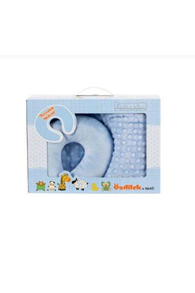 Özdilek Tomurcuk Boyun Yastıklı Bebek Battaniyesi