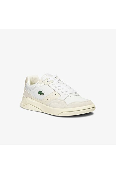 Lacoste Gameadvance Luxe 07211Sfa Kadın Bej - Beyaz Sneaker 741SFA0065