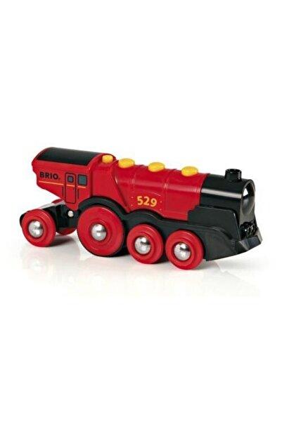 BRIO Kırmızı Sesli Lokomotif Tren Oyuncak