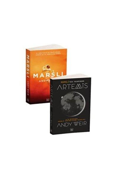 İthaki Yayınları Andy Weir 2 Kitap Takımı Artemis Marslı