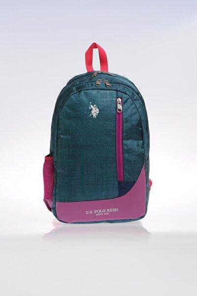 U.S. Polo Assn. Plçan9226 Yeşil Kız Çocuk Okul Ve Sırt Çantası