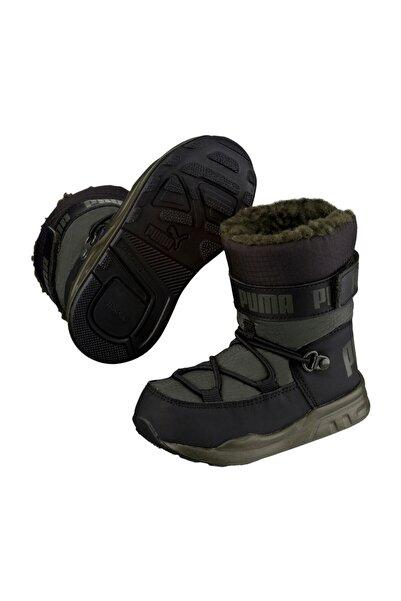 Puma Erkek Çocuk Kids Trinomic Boot PS Forest Night-Puma 36397804