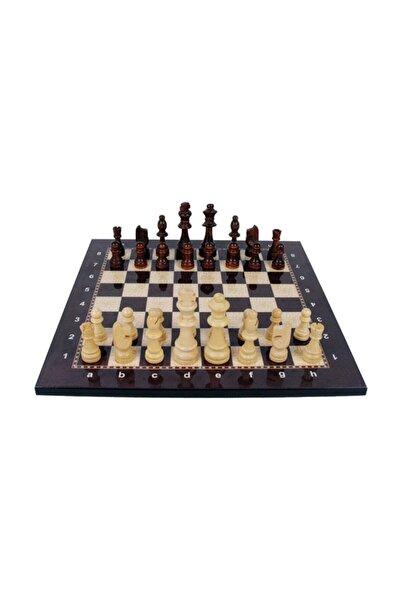 checkmate Lüks Ağaç Ahşap Satranç Takımı Seti Ahşap Figür Dama Üstün Kalite