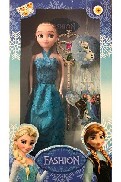 Frozen Mavi Elsa Oyuncak Bebek