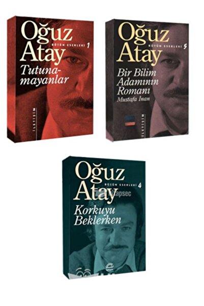 İletişim Yayınları Tutunamayanlar Bir Bilim Adamının Romanı Korkuyu Beklerken Oğuz Atay Set