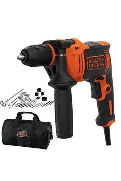 Black+decker Beh710sa40 710watt 13mm Darbeli Matkap + 40 Parça Delme Ve Vidalama Seti