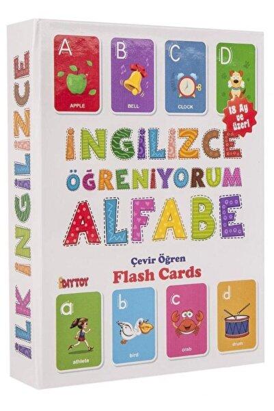 DIY Toys Ingilizce Öğreniyorum Alfabe (flash Cards)