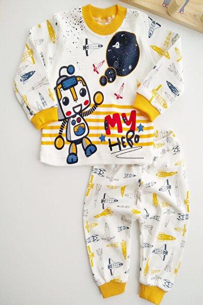 Bebek Exclusive Minik Robot Tarz 2li Takım