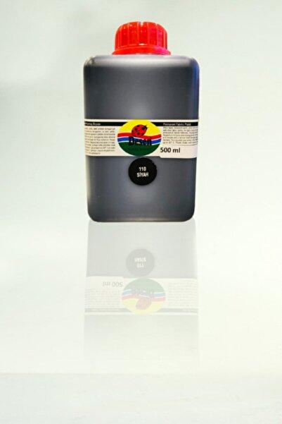 Desen Siyah Kumaş Boyası 500ml.(110-siyah)