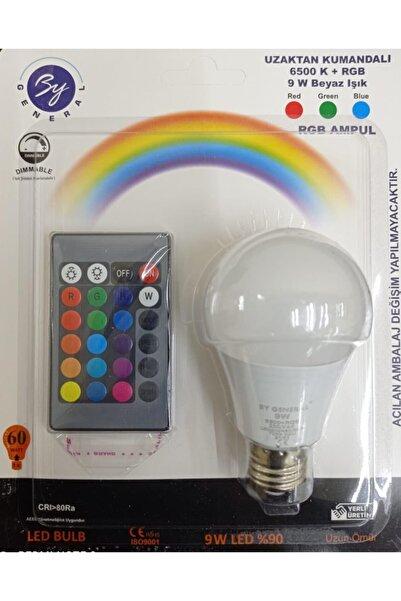 General Electric Led Uzaktan Kumandalı Renk Değiştiren Ampul Rgb 9w Beyaz Lamba Ve Renkli Ampul