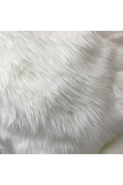 Hanedan Kumaş Yumuşak Ve Uzun Tüylü Oto Torpido Peluşu Beyaz