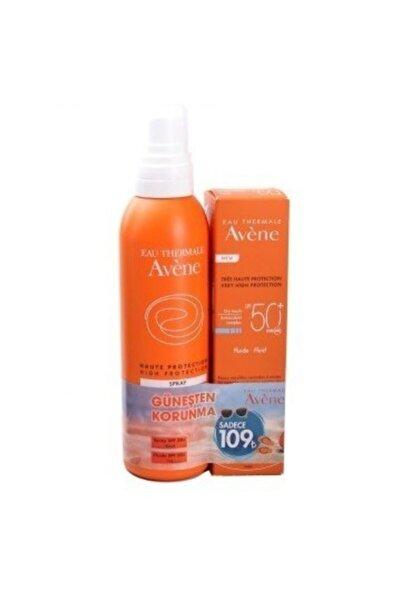 Avene Fluid Dry Touch Spf 50+ Güneş Koruyucu + Koruyucu Vücut Yağı Spf 30 150 ml