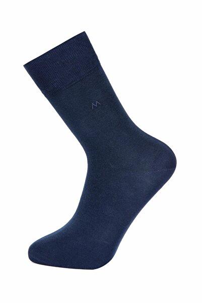 Hemington Pamuklu Lacivert Yazlık Çorap
