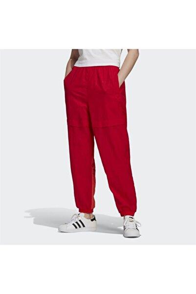 adidas Kadın Kırmızı Lastikli Paça Eşofman Altı