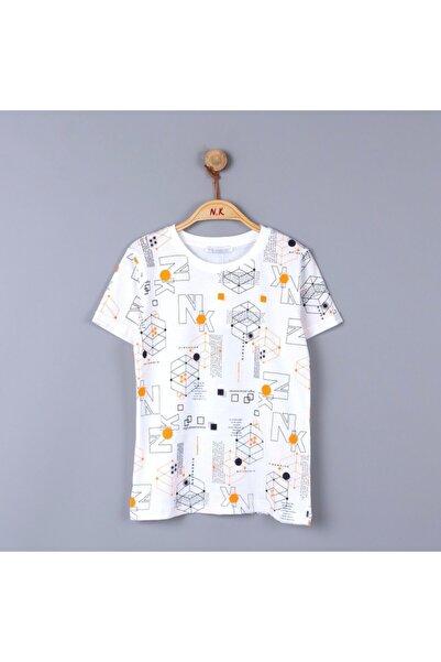 nk kids Erkek Çocuk Desenli T-shirt