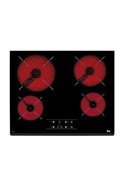 Teka Tz 6415 Siyah Vitroseramik Elektrikli Ankastre Ocak