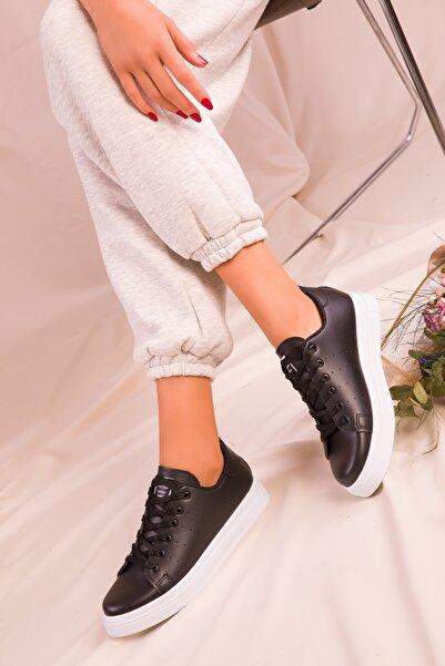 SOHO Siyah Kadın Sneaker 14739
