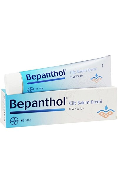 Bayer Bepanthol El Ve Yüz Bakım Kremi 100 Gr