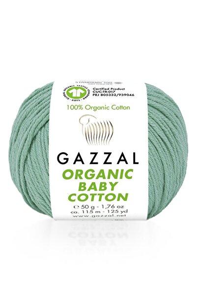Gazzal Azur Yeşil Organic Baby Cotton 422