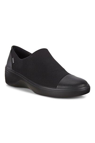 Ecco Siyah Kadın Casual Ayakkabı Soft 7 Wedge W Black/Black 470913