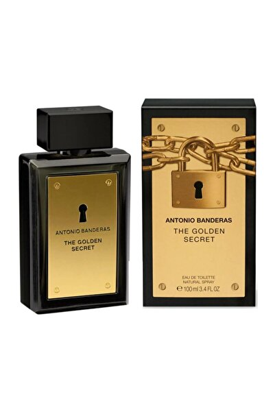 Antonio  Banderas The Golden Secret Edt 100 ml Erkek Parfüm 8411061722756