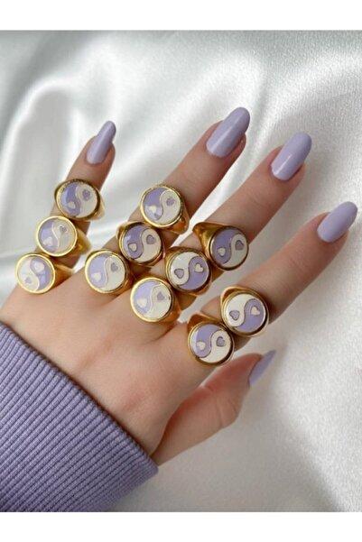Reorah Collection Kalpli Yin-yang Yüzük