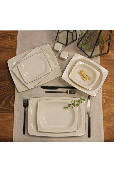 Porland Platin 57 Parça 12 Kişilik Yemek Takımı