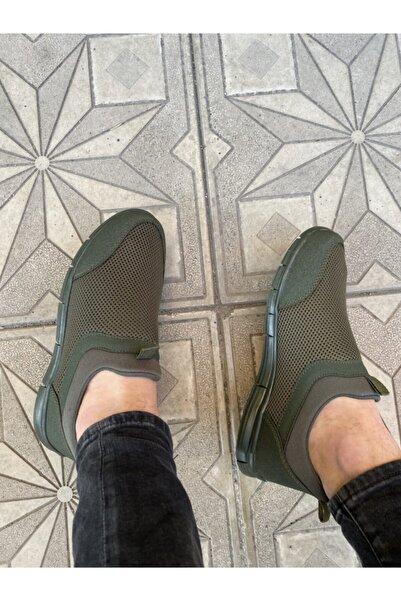 haykmar Yeşil Erkek Ipsiz Spor Yürüş Ayakkabısı