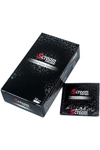 Scream Geciktirici Etkili Prezervatif 12'li Paket