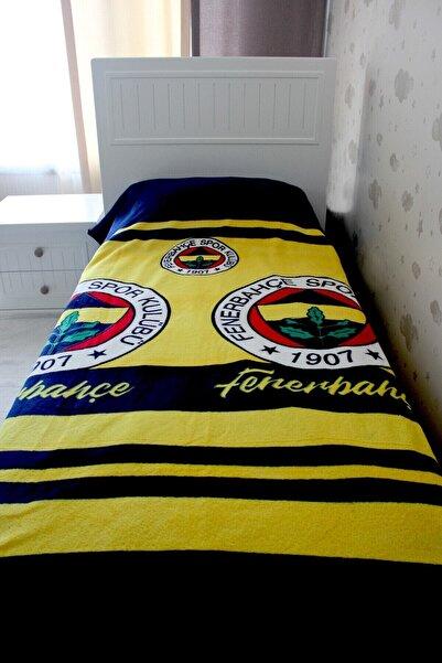 Zorluteks Tek Kişilik Lisanslı Outlet Battaniye Fenerbahçe 150x200