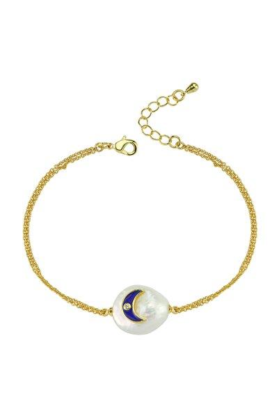 Luzdemia Moon Pearl Bracelet
