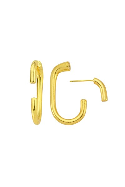 Luzdemia Oval Huggy Medium Earring