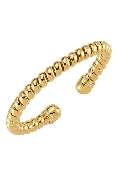 Luzdemia Twister Bangle - Gold