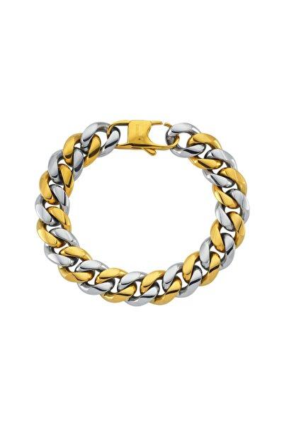 Luzdemia Curb Bracelet White/gold