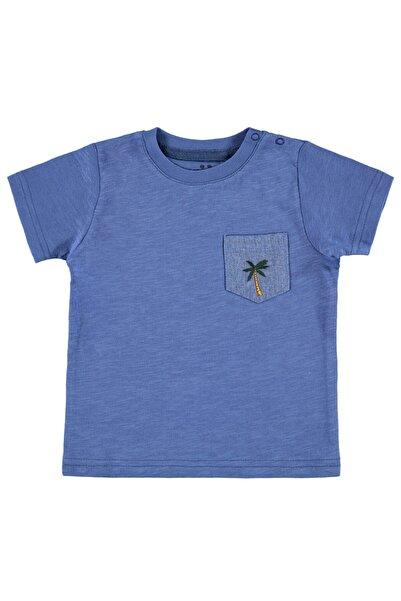 Civil Baby Erkek Bebek İndigo Tişört