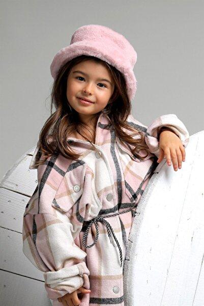 Oblavion Kız Çocuk Pembe Moonia Hat Şapka