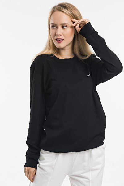 Superlife Kadın Bisiklet Yaka Sweatshirt