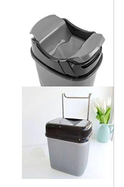 444 Metal Askılı Çöp Kovası