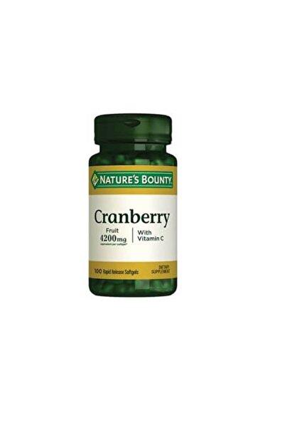 Nature's Bounty Cranberry Plus Vitamin C 100 Kapsül 074312043499