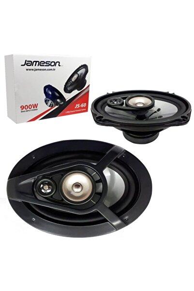 Jameson Oto Hoparlör Oval 6x9 900w 2 Adet Js-60
